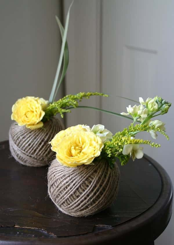 Spools Twine Vases 1 • Accessories