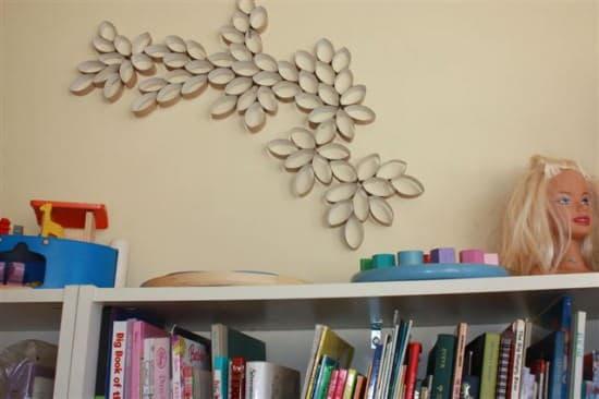paper roll wall art1