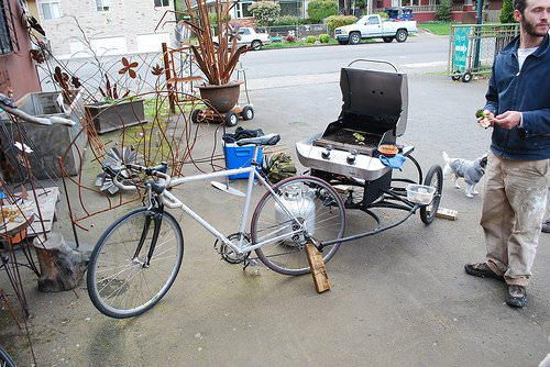 Bbq Bike 1 • Upcycled Bicycle Parts