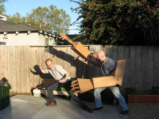 Diy: Giant Robot Arms 1 • Recycled Cardboard