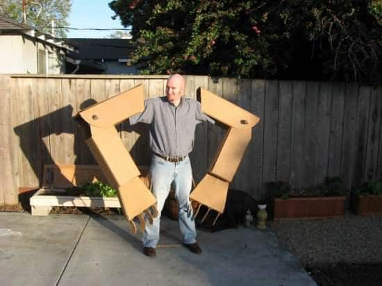 Diy: Giant Robot Arms 2 • Recycled Cardboard