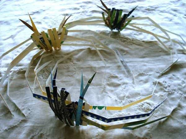 Creatures Of The Sea Made From Recycled Milk Packaging 2 • Recycled Art