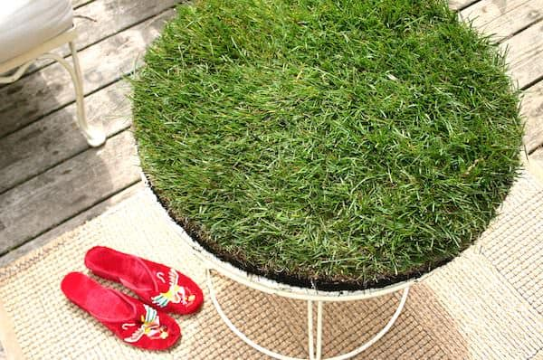 Grass Table 1 • Do-It-Yourself Ideas