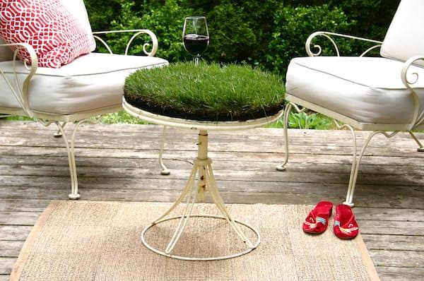 Grass Table 2 • Do-It-Yourself Ideas
