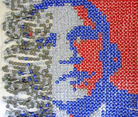 Obama Portrait Made Out Of 1600 Upcycled Bottle Caps 2 • Recycled Art
