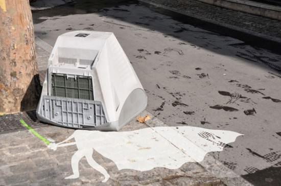 White Vador ! 1 • Interactive, Happening & Street Art