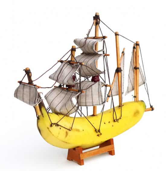 Banana Boats 3 • Wood & Organic