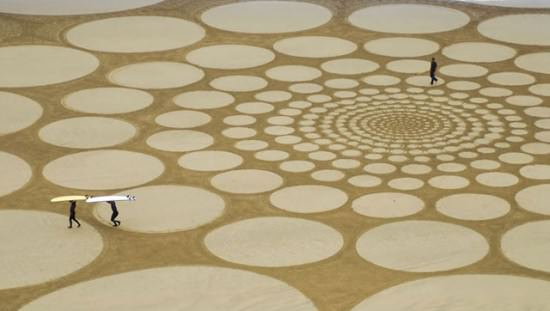 Sand Art by Jim Denevan 2 • Interactive, Happening & Street Art