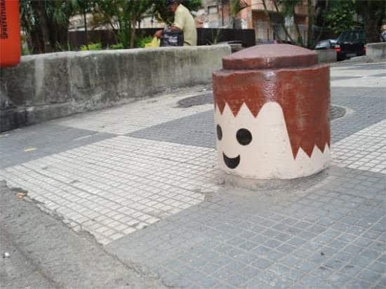 Urban Playmobil Heads 2 • Interactive, Happening & Street Art