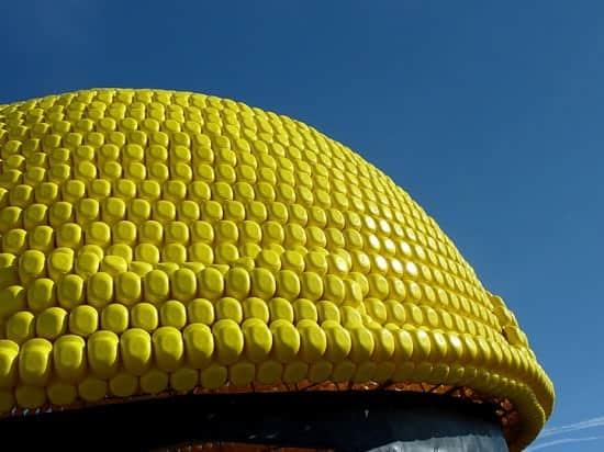 Giant Helmet Sculpture (2nd Guinness World Record) 1 • Recycled Plastic