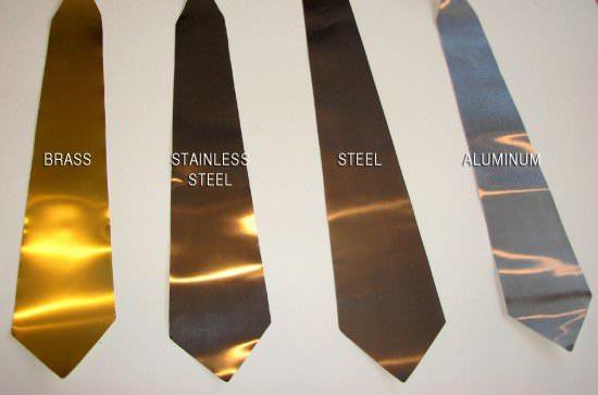 Metal Neckties 1 • Accessories