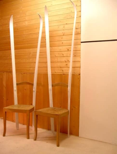 Ski Chairs 1 • Recycled Furniture