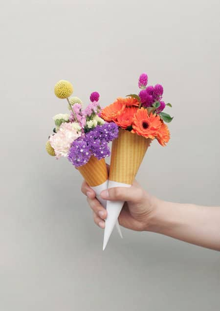 Different Bouquets 1 • Recycled Packaging