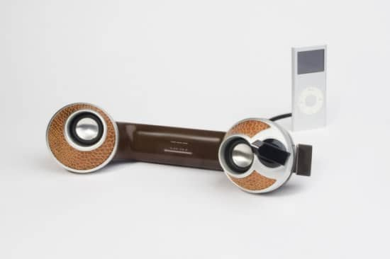 Dreyfus Phones -->stereo Speakers for Mp3 Players 1 • Recycled Electronic Waste