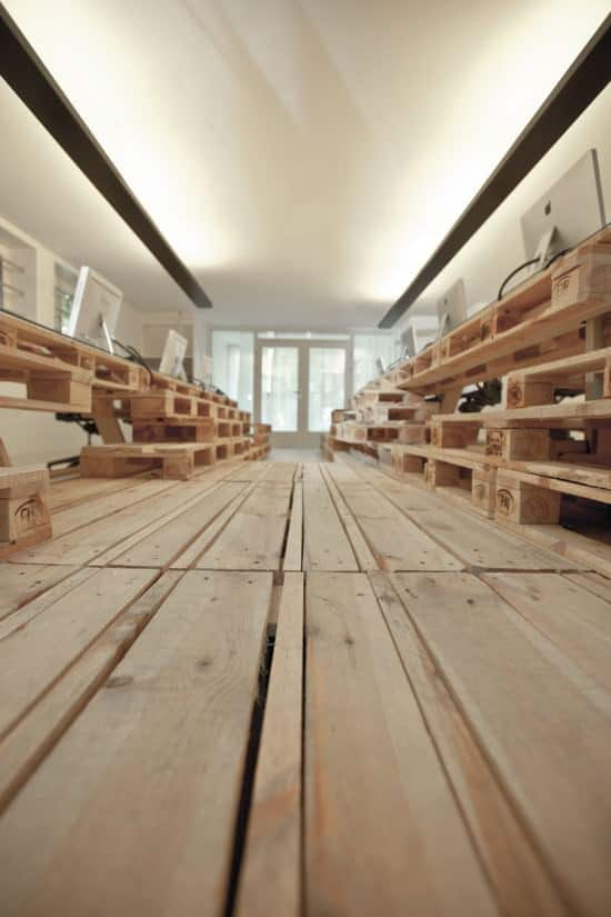 Pallet Office by Most Architecture 3 • Home Improvement