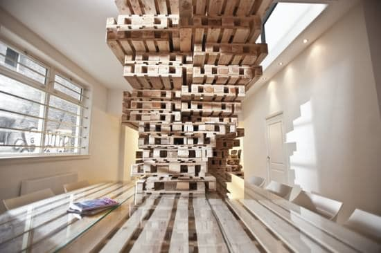 Pallet Office by Most Architecture 4 • Home Improvement