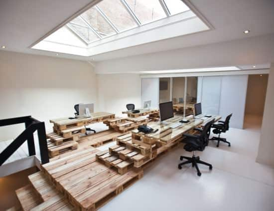 Pallet Office by Most Architecture 1 • Home Improvement