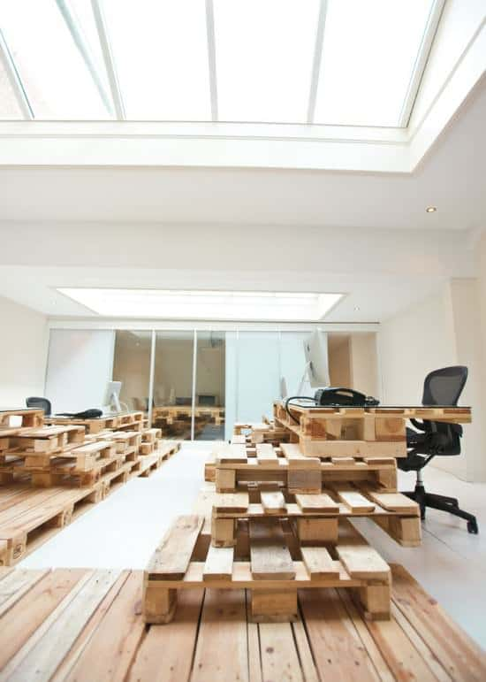 Pallet Office by Most Architecture 8 • Home Improvement