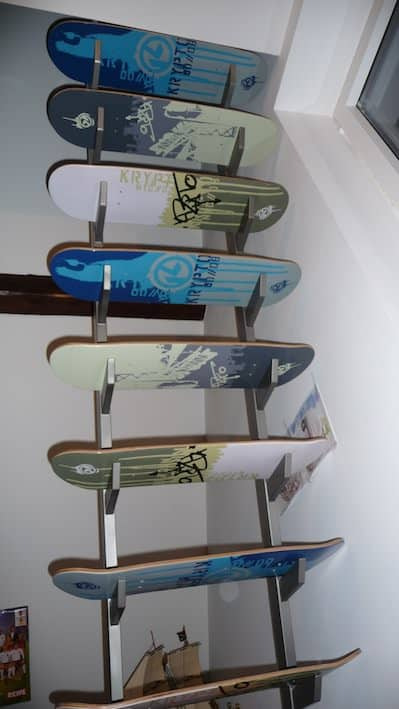 Skateboard Deck Stairs 2 • Recycled Sports Equipment
