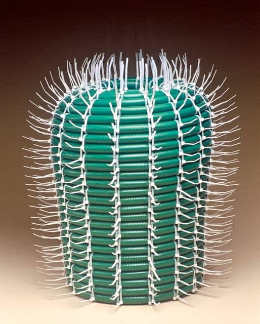 Hose Cactus 3 • Recycled Art