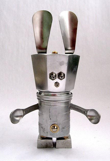 Adopt A Bot 4 • Recycled Art