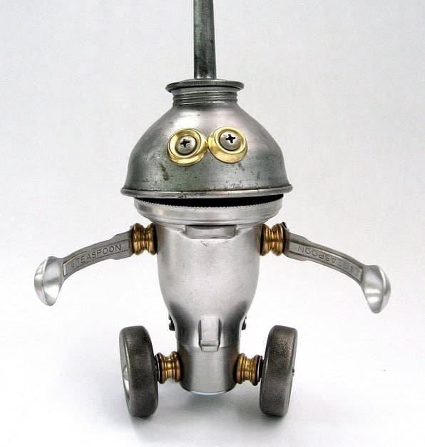 Adopt A Bot 1 • Recycled Art