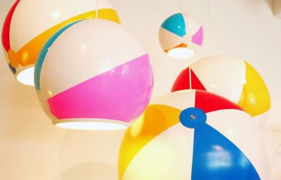 Beach Ball Into Lampshade 1 • Lamps & Lights
