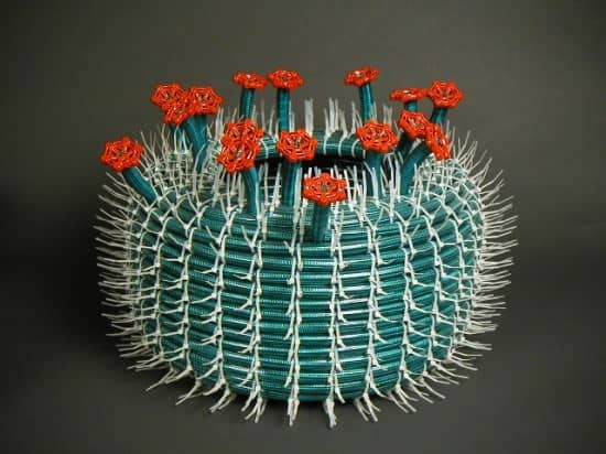 Hose Cactus 5 • Recycled Art