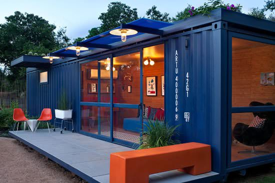 Container Guest House 5 • Home Improvement