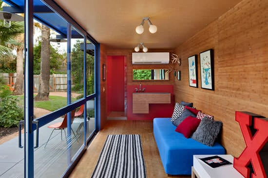 Container Guest House 4 • Home Improvement