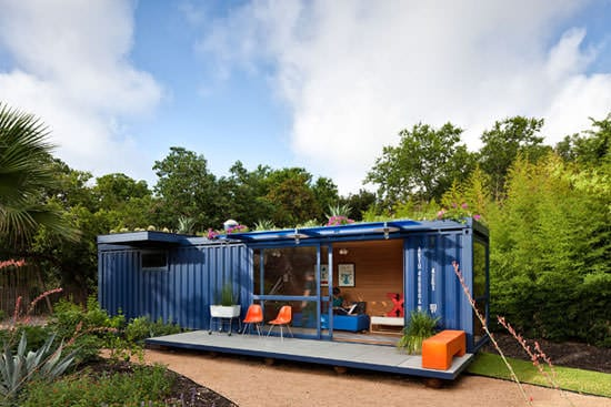 Container Guest House 1 • Home Improvement