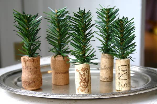 Diy: Tiny Trees From Upcycled Corks 1 • Do-It-Yourself Ideas