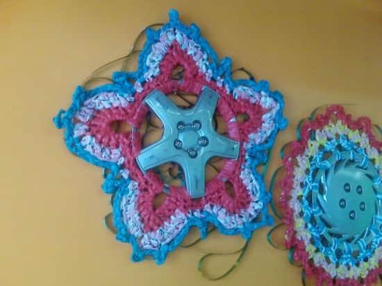 Hubcaps Crocheting 1 • Mechanic & Friends
