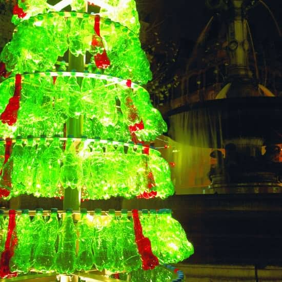Christmas Tree From The Designpack Gallery 5 • Recycled Art