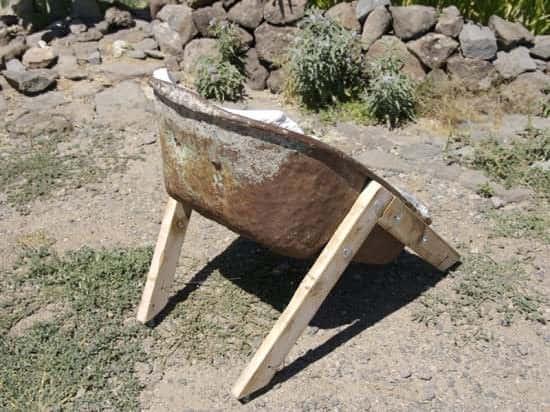 Wheelbarrow Chairs 5 • Recycled Furniture