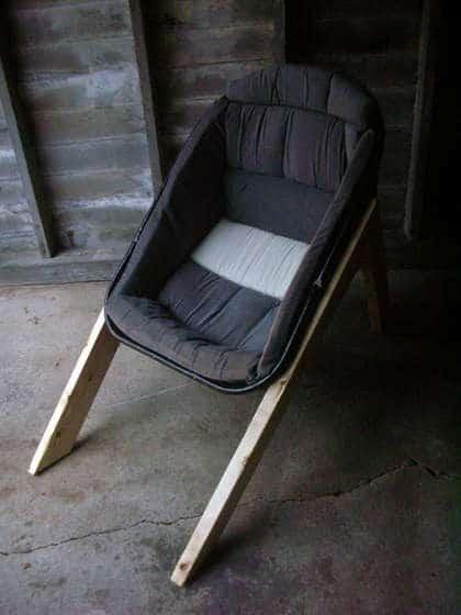 Wheelbarrow Chairs 3 • Recycled Furniture