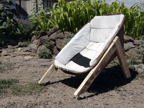 Wheelbarrow Chairs 1 • Recycled Furniture
