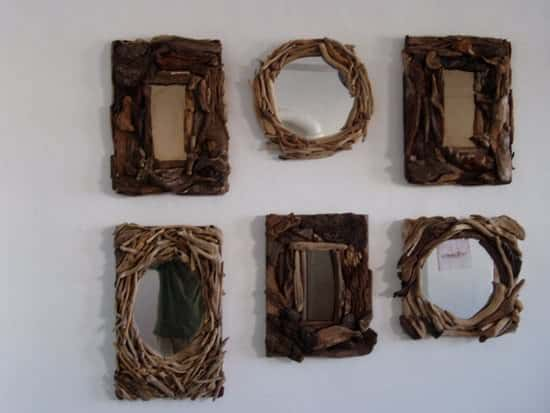 Driftwood Mirrors 3 • Recycled Art