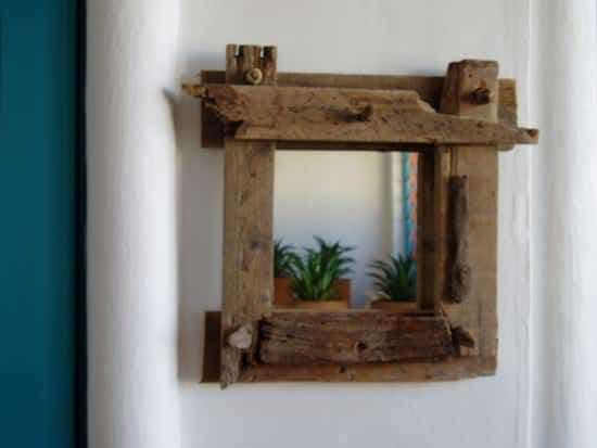 Driftwood Mirrors 2 • Recycled Art