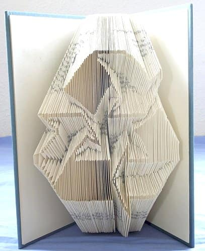 Book Origami 7 • Recycled Art