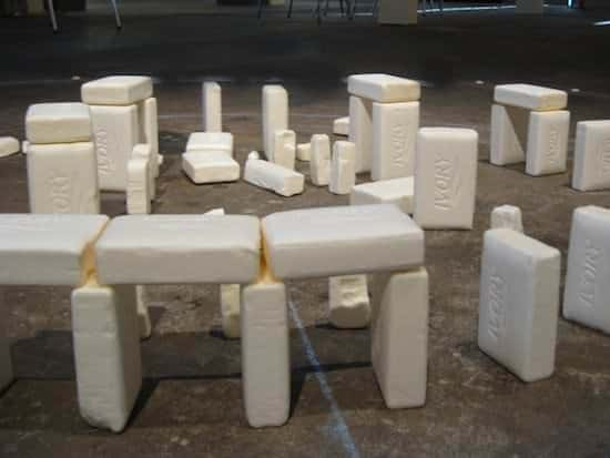 Soap Henge 2 • Recycled Art
