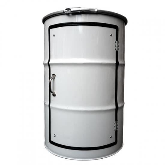Metal Barrel Cupboard 2 • Recycled Furniture
