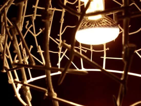 Nails & Concrete Lamp 1 • Lamps & Lights