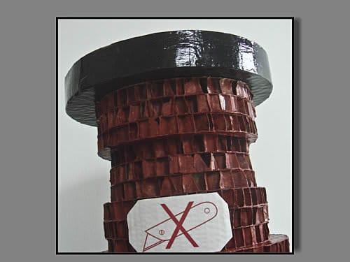 Cardboard Stool 2 • Recycled Cardboard