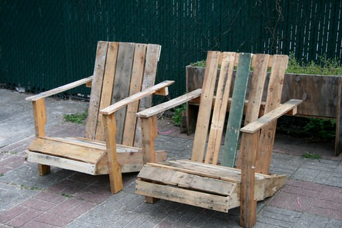 Diy: Pallet Adirondack Chair 1 • Recycled Furniture
