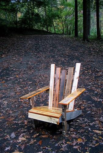 Diy: Pallet Adirondack Chair 3 • Recycled Furniture