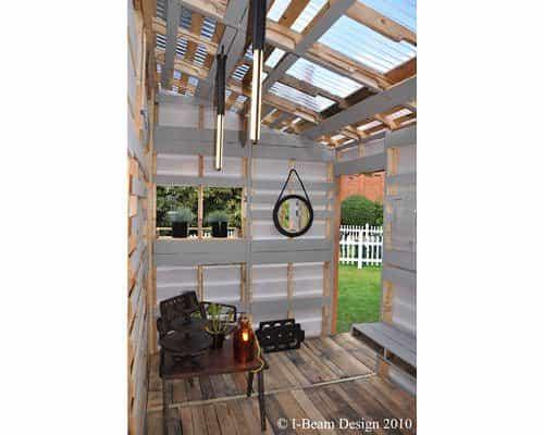 I-beam Design Pallet House 6 • Home Improvement