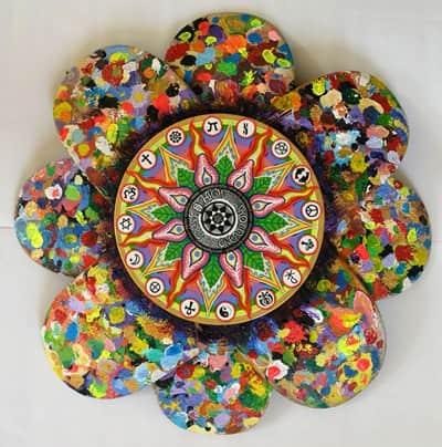 Peruvian Skateboard Art 3 • Recycled Art