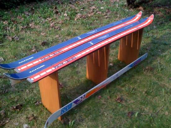 Ski Bench 1 • Recycled Sports Equipment