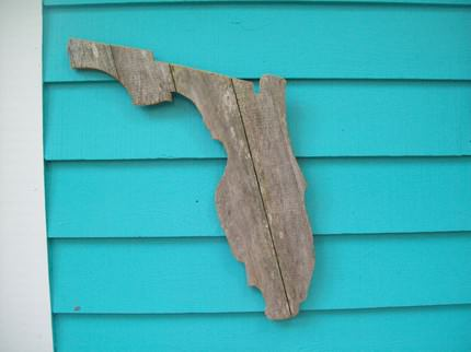 Fence Wood Art 1 • Recycled Art